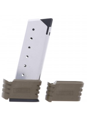 Springfield Armory XD-S .45 ACP 7-Round Magazine w/ FDE X-Tension Sleeve Right