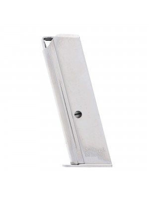 Walther PPK/S .380 ACP 7-Round Magazine Nickel Left