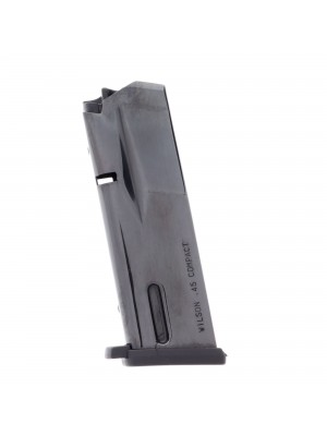 WIlson Combat 1911 KZ-45 Compact .45 ACP 9-Round Magazine with Pad Left View