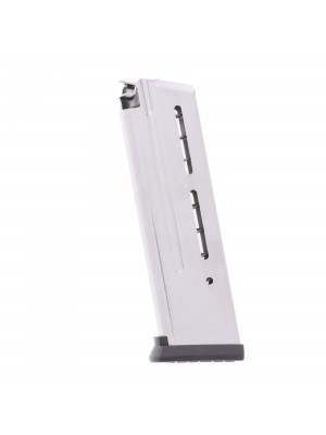 Wilson Combat 1911 Elite Tactical 9MM 10-Round Steel Magazine With ETM Base Pad Left View