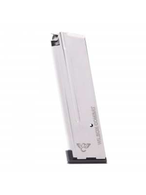 Wilson Combat 1911 Elite Tactical Vickers Duty 9MM 10-Round Magazine With Aluminum Base Pad Left View