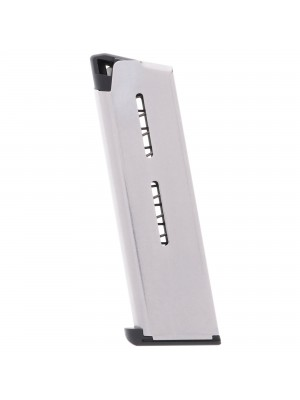 Wilson Combat 1911 .45 ACP 7-Round Steel Magazine With Lo-Profile Steel Base Pad Left View