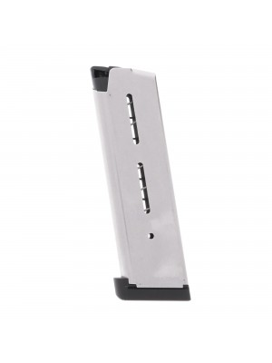 Wilson Combat 1911 .45 ACP 8-Round Steel Magazine With Aluminum Base Pad Left View