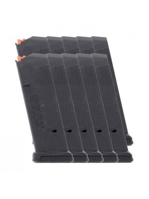 10 PACK Magpul PMAG 15 GL9 Glock 19 9mm 15-Round Polymer Magazine Left View