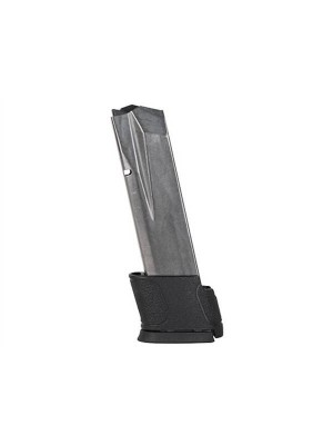 Smith & Wesson S&W M&P .45 ACP 14-Round Steel PVD Factory Magazine with Base Pad
