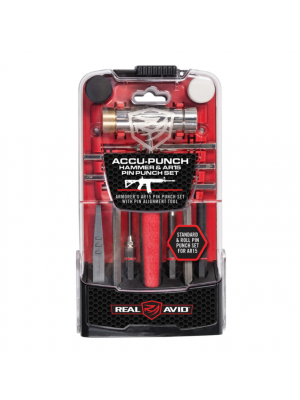 Real Avid Accu-Punch Hammer & AR15 Pin Punch Set
