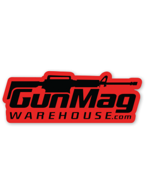 "Gunmag Logo 4"" Vinyl Die Cut Sticker"