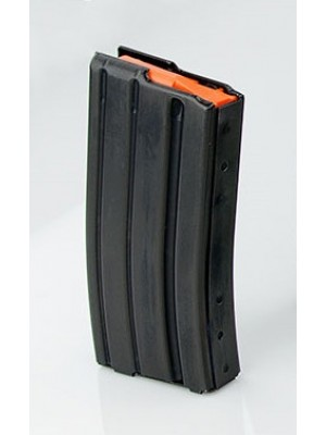 CPD AR-15 .223/5.56 20-Round Aluminum Magazine w/ Orange Follower