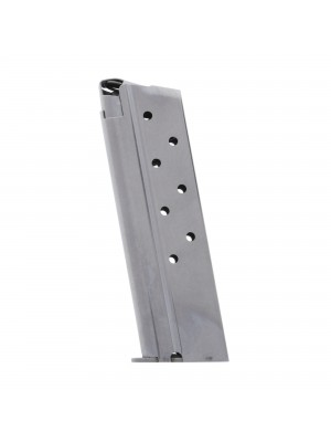 Metalform Standard 1911 Government, Commander 10mm, Stainless Steel (Welded Base & Round Follower) 8-Round Magazine
