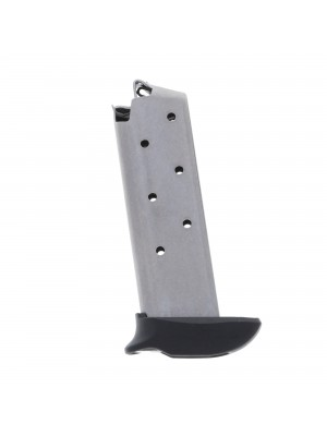Metalform Colt .380 ACP Stainless Steel (Welded Base & Flat Follower) with Basepad Extender 7-Round Magazine