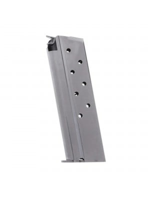 Metalform Standard 1911 Government, Commander .40 S&W, Stainless Steel (Welded Base & Flat Follower) 8-Round Magazine