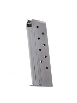 Metalform Standard 1911 Government, Commander 9mm, Stainless Steel (Removable Base & Flat Follower) 9-Round Magazine