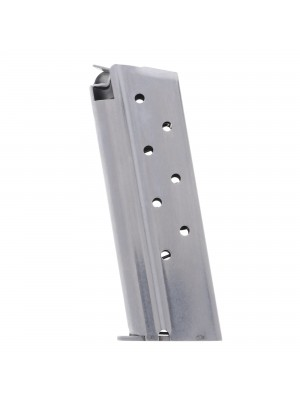 Metalform Officer 1911 9mm, Stainless Steel (Welded Base & Flat Follower) 8-Round Magazine