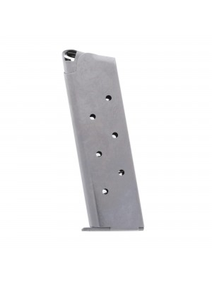 Metalform Standard 1911 Government, Commander .45 ACP Stainless Steel (Removable Base & Round Follower) 7-Round Magazine