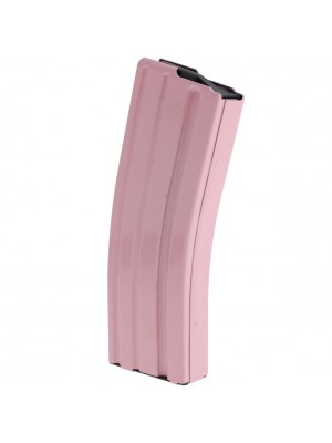 ASC AR-15 .223/5.56 30-Round Stainless Steel Pink Magazine