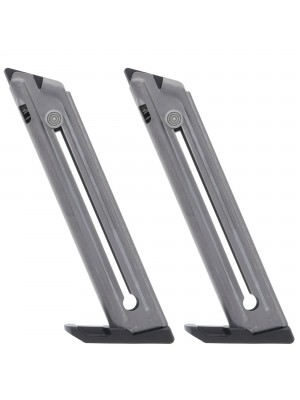 2 Pack Ruger Mark IV 22/45 .22LR 10-Round Magazine