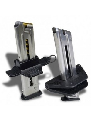Maglula X10-Lula and V10-Lula .22LR Magazine Loaders for Narrow Single-Stack Magazines with a Projecting Side-Buttons