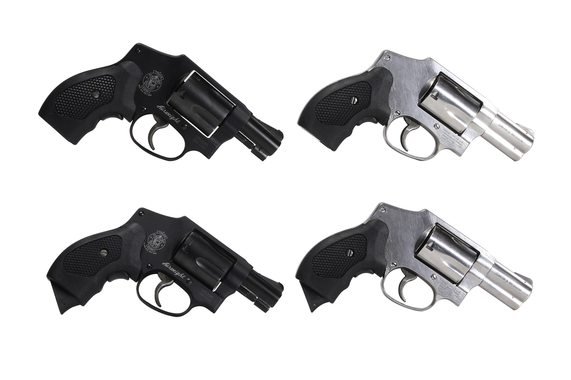 J-Frame S&W Pistols with New Guardian Grip
