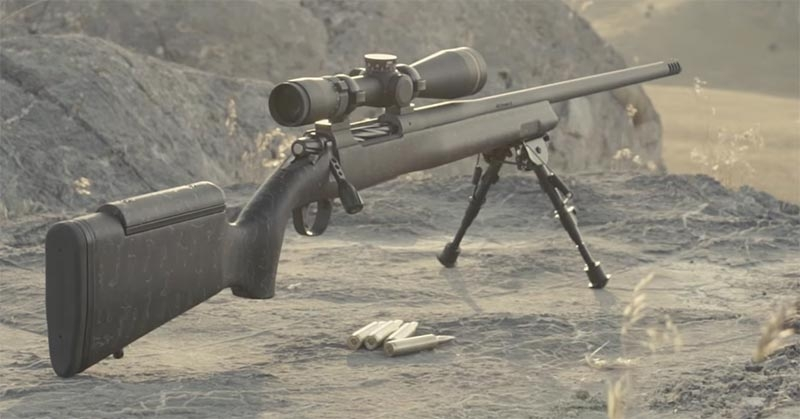 The Christensen Arms Mesa Long Range rifle in the field.