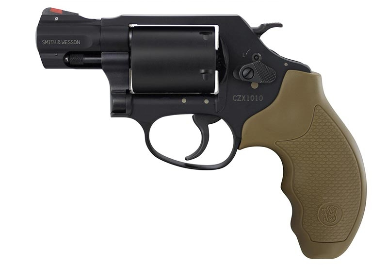 The left side of the Smith & Wesson Model 360.