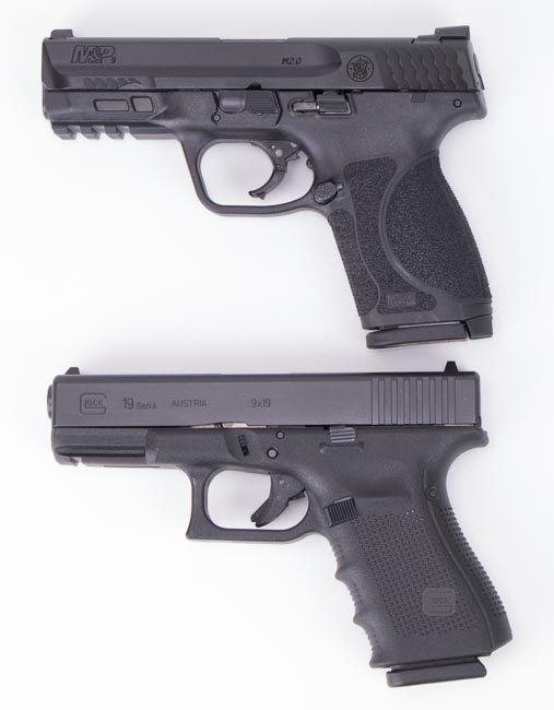 Comparing the Smith & Wesson M&P9 M2.0 Compact and Glock 19