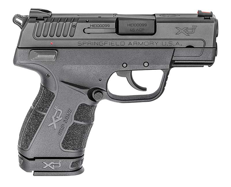 This is the Springfield Armory XD-E in .45 ACP.