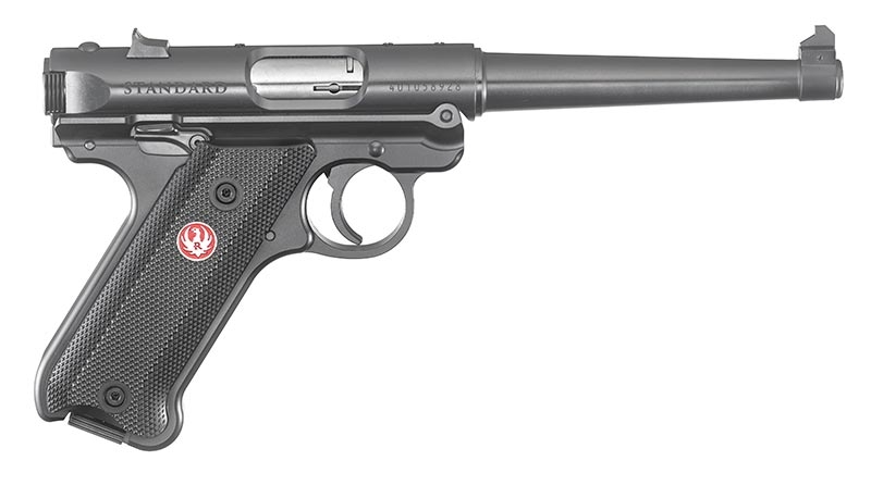 This is the Ruger Mark IV Standard pistol.